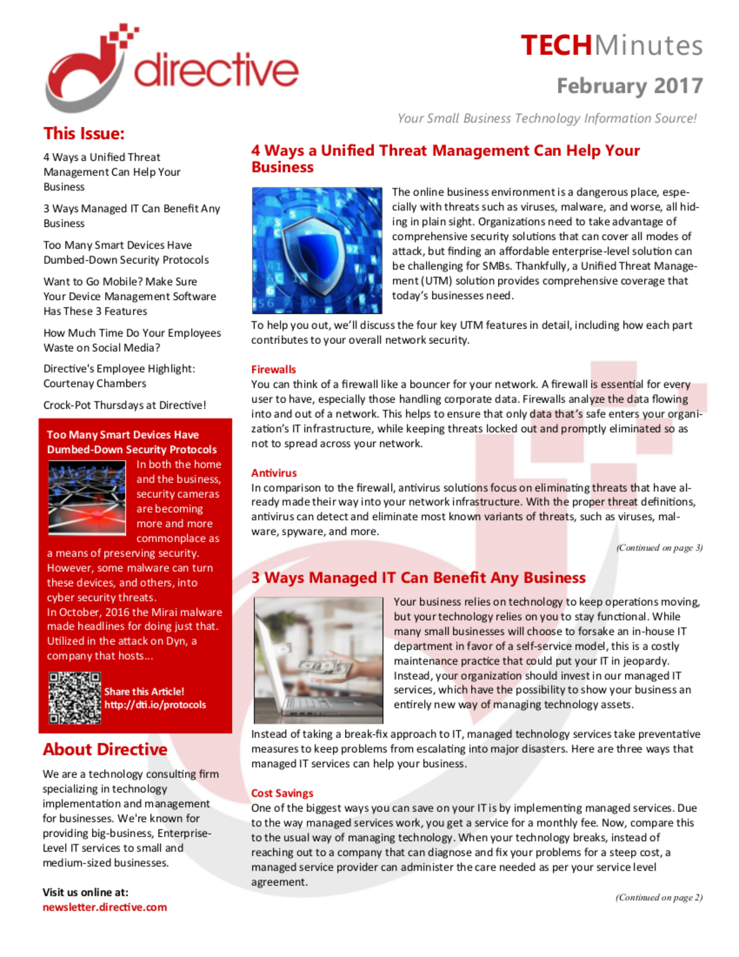 Our Newsletters | Oneonta, NY | Directive