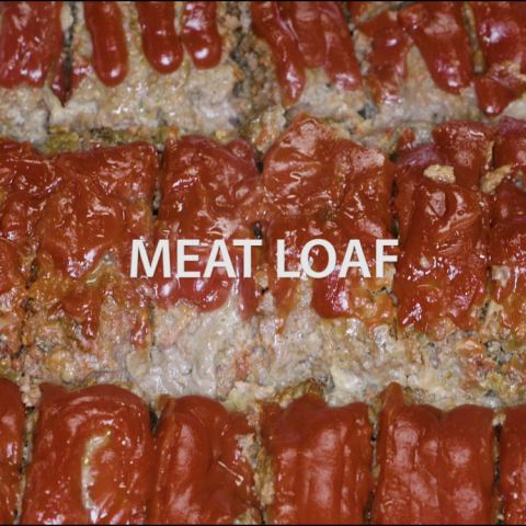 Meat Loaf with Garlic Mashed Potatoes and Green Beans/Brussel Sprouts and Apple Pie Bake