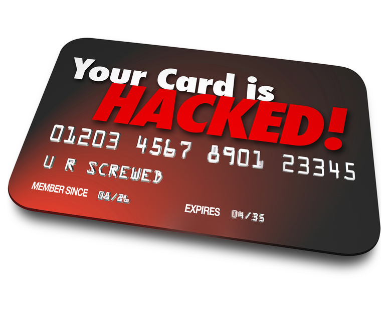 hack credit card number and password