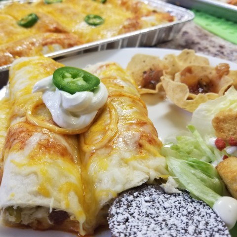 Crack Chicken Enchiladas