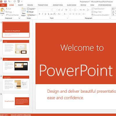 What's New with Microsoft PowerPoint 2013